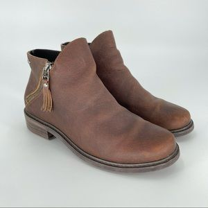 Parfeying Ankle Boots Mid Heel Leather Boots 10